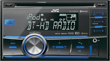 JVC Double Din CD Receiver KWHDR81BT