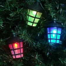 40 LED CHRISTMAS LANTERN LIGHTS MULTI COLOURED MAINS PLUG INDOOR OUTDOOR 40OLS