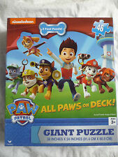 NICKELODEON PAW PATROL - Giant Floor Puzzle 46-Piece BRAND NEW BOX 3 foot puzzle