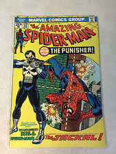 AMAZING SPIDER-MAN #129 KEY HOT ISSUE, 1ST PUNISHER, 1ST JACKAL, 1974, ANDRU