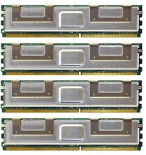 16GB (4X4GB) DDR2 MEMORY RAM PC2-5300 ECC FBDIMM DIMM **Tested**