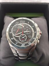 Citizen  Eco Drive Chronograph Date Watch100MT Water Resistant H570S024251