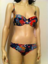 Nanette Lepore Kimono Floral 2 piece Bathing Swim Suit Size XS Made in USA NWT