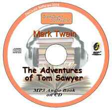 The Adventures  of Tom Sawyer -  Mark Twain MP3 Audio Book CD