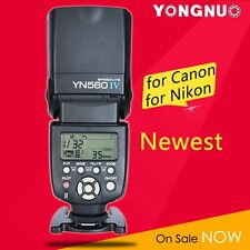Yongnuo YN-560 IV Flash Speedlite Manual for Nikon Canon Olympus Pentax DSLR