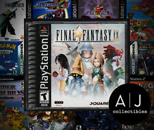 Final Fantasy IX 9 PS1 Playstation 1 COMPLETE! CASE IS NEAR MINT!