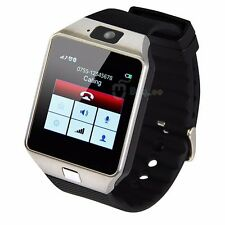 W-09 Watch Phone 1.54'Touch Screen quad band single SIM Bluetoot mobile Phone