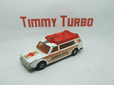 AMBULANCE K 49 IN WHITE & RED MATCHBOX SPEEDKING 1974