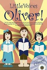 Little Voices Oliver Learn Sing Choir Vocal Piano SHEET Music Book & CD