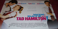 Cinema Poster: WIN A DATE WITH TAD HAMILTON! 2004 (Quad)