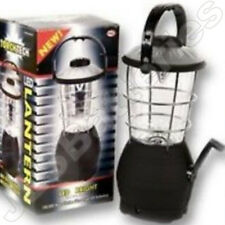 12 LED LANTERN Camping Light WINDUP 12v dynamo no batteries required