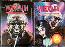 THE WITCHER WIEDŹMIN - 2 comics book Polish Edition hardcover 2001