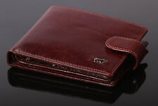 Genuine Leather Brown Braun Buffel Wallet for men