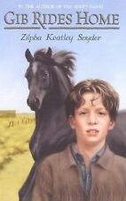 Gib Rides Home by Zilpha Keatley Snyder c1998 VGC Hardcover, We Combine Shipping