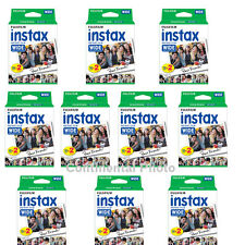 200 Prints Fuji Instant Wide Color Film for Fujifilm Instax 200 / 210 Camera