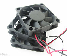 1pc Brushless DC Cooling Fan 60x60x15mm 6015 9 blades 24V 0.10A 2pin Connector