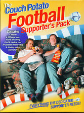 THE COUCH POTATO FOOTBALL SUPPORTER'S PACK - ALL YOU NEED! - NEW