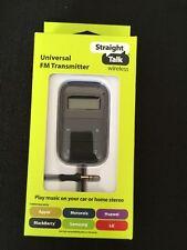 Straight Talk FM Radio Transmitter Digital Car MP3 Player Stereo AUX P2798 NEW
