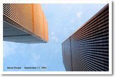 NEVER FORGET - September 11, 2001 9/11 Patriotic POSTER