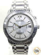 Bucherer Automatic Chronometer Archimedes World Time GMT Ref 2892.505 Watch