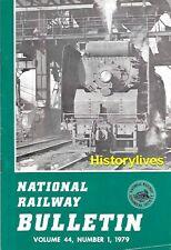 NRHS Bulletin V44 N1 Canadian West Brill Rail Motor Cars Bridgton Harrison Milk