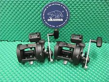Okuma Magda MA 20D Star Drag Line Counter Trolling Reel 2 PACK!