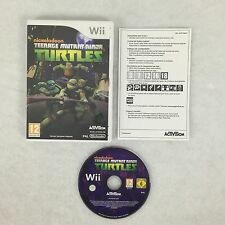 Teenage mutant ninja turtles Wii / Jeu Wii et Wii U (Les Tortues Ninjas)