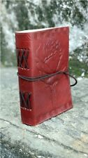 Handmade Leather Journal Rose Diary Leather Small Sketchbook Notebook Artist