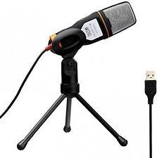 Tonor USB professionale Condensatore Sound podcast STUDIO MICROFONO PER PC PORTATILE