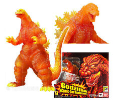 GODZILLA figure SDCC MELTDOWN burning S.H.MONSTERARTS bandai COMIC-CON EXPLOSION