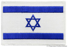 ISRAEL FLAG EMBROIDERED PATCH Star of David ISRAELI new IRON ON applique