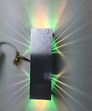 """SpiceLED®-Wandleuchte """"ShineLED-6"""" 2x3W RGB 12V 6Watt LED Effekt (BD057-6-RGB)"""