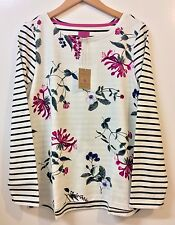 JOULES WOMENS TOP UK (16) BRAND NEW,HARBOUR FLORAL HEDGEROW,JERSEY,LONG SLEEVE