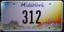 Missouri Commemorative License Plate