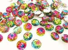 20 Multi-Color Jewel Rhinestone 12mm Sewing Button/2 hole/sewing/trim Sb7-Round