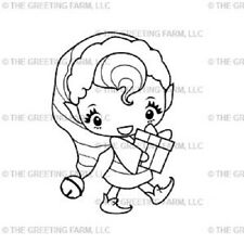 VIVI-The Greeting Farm Mount Rubber Stamp-Stamping Craft-Elf-Wild Sprouts