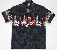 """VINTAGE Da Uomo Winnie Fashions USA Hawaiano/Surf/Danza Camicia Spiaggia Tropicale/S 42"""""""