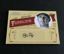 2012 PANINI PLAYOFF PRIME CUTS  TIMELINE BUSTER POSEY 2/25 NICE