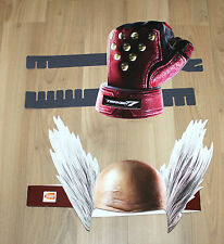 Tekken 7 Promo Paper Head Mask & Punch from Gamescom 2016
