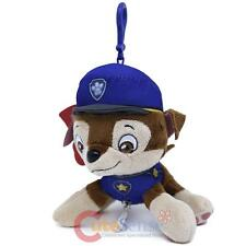 Paw Patrol Chase Plush Doll Key Chain Coin Bag Clip On Hanger
