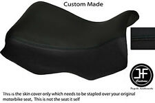 BLACK AUTOMOTIVE VINYL CUSTOM FITS BMW R 1150 GS FRONT RIDER SEAT COVER ONLY