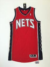 2012 New Jersey Nets Authentic Adidas Revolution 30 Blank NBA Jersey Size L +2