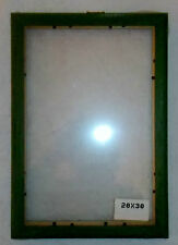 CORNICE GREZZA - PICTURE FRAME - FOTOS MARCO/ COLOR VERDE - 20X30