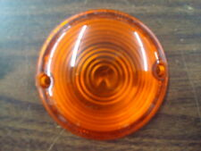AMBER TURN SIGNAL LENS FOR HARLEY DAVIDSON FL MODELS FROM 1963 - 1984