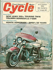 MINT Cycle Magazine Sept.1966 Harley-Davidson, BMW 50 Years, Triumph Bonneville