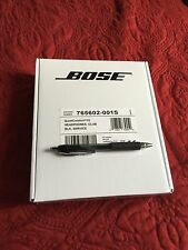 Bose QC15 Noise Cancelling QC 15 TRIPLE BLACK - FACTORY SEALED With Extra Cable