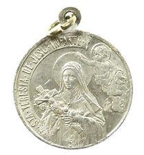 MEDAL, RELIGIOUS ST TERESA PENDANT, CHRISTIANTIY, EARLY 20TH CENTURY