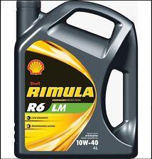 SHELL RIMULA R6 LM 10W-40 4L - ACEA E6,E7 MB,Volvo,Renault,Deutz,Mack,Cat, Cumm