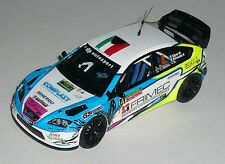FORD FOCUS WRC SIGNOR RALLY DELLA MARCA   2016  DECALS 1/43