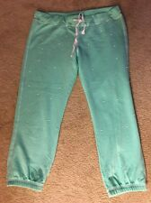 Mint Green, Pearl Accented Sweat Pants by Delias.com, Size L